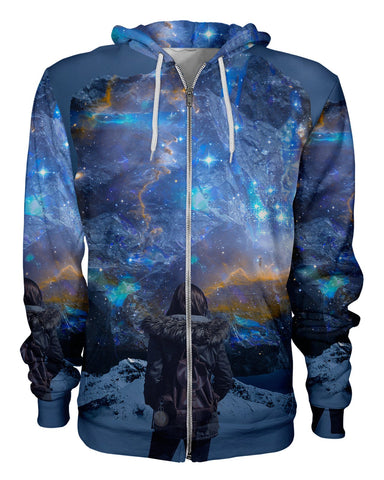 Cosmic Portal printed all over in HD on premium fabric. Handmade in California.