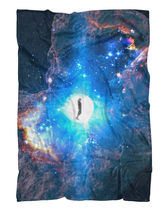 Celestial Embryo Fluffy Blanket