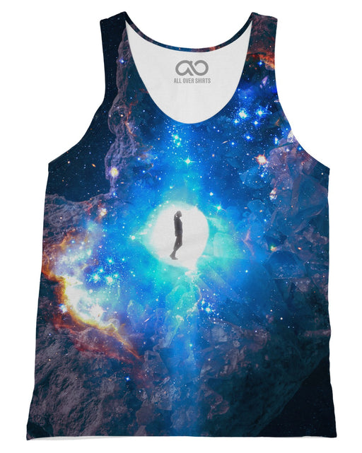 Celestial Embryo printed all over in HD on premium fabric. Handmade in California.