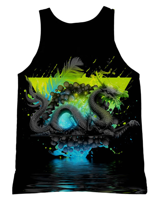 Dark Awe Dragon Tank-Top