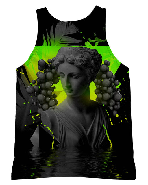 Dark Awe Vaporwave Tank-Top