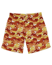 Color Camo Fall Feeling Athletic Shorts