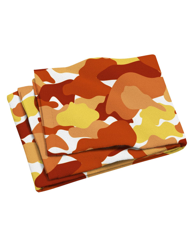 Color Camo Fall Feeling Beach Towel