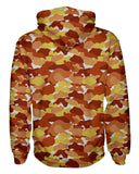 Color Camo Fall Feeling Pullover Hoodie