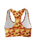 Color Camo Fall Feeling Sports Bra