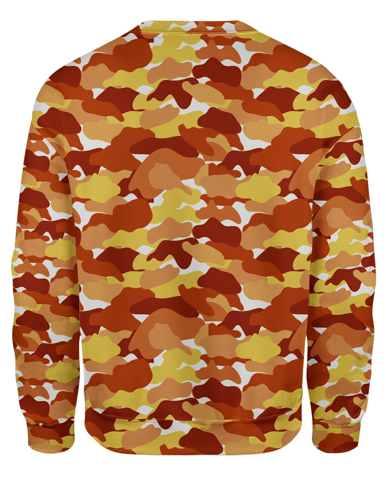 Color Camo Fall Feeling Sweatshirt