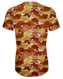 Color Camo Fall Feeling T-shirt