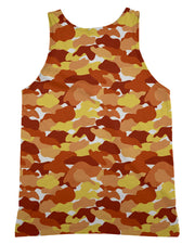 Color Camo Fall Feeling Tank-Top