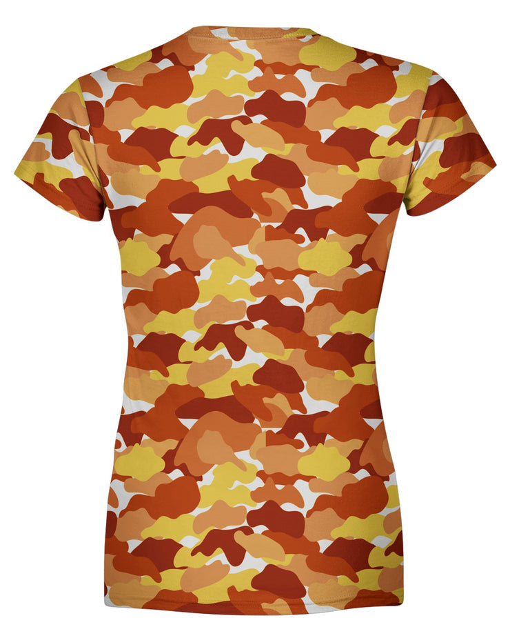 Color Camo Fall Feeling Women's T-shirt