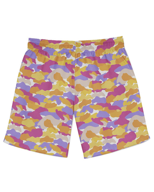 Color Camo Notebook Athletic Shorts