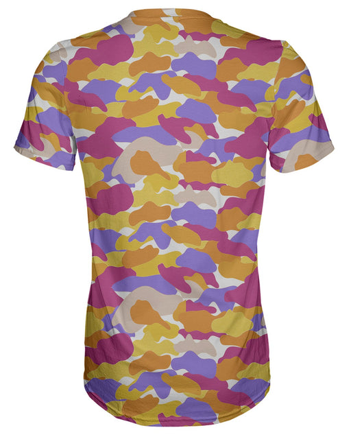 Color Camo Notebook T-shirt
