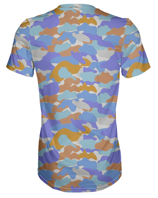 Color Camo Afternoon Journey T-shirt