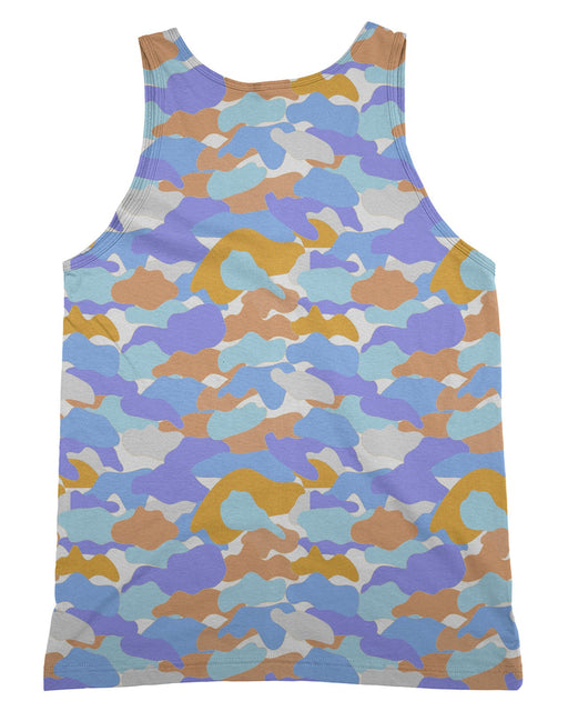 Color Camo Afternoon Journey Tank-Top