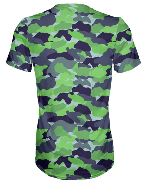 Color Camo Neon Field T-shirt