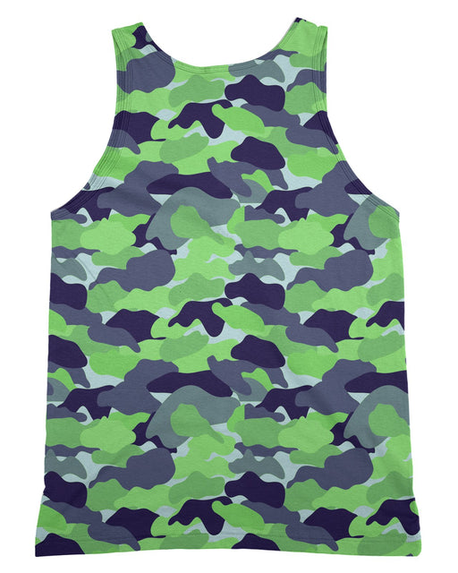 Color Camo Neon Field Tank-Top