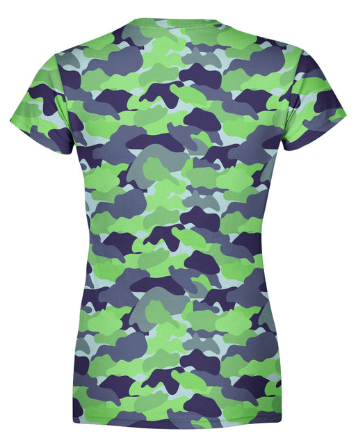Color Camo Neon Field Women's T-shirt