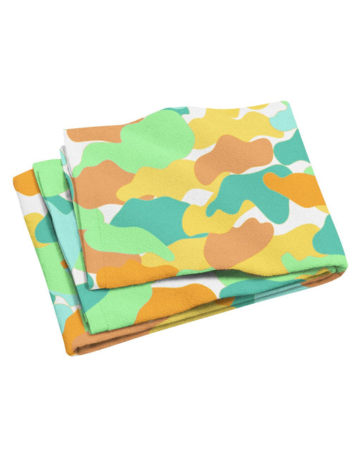 Color Camo Watermelon Beach Towel