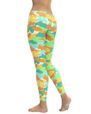 Color Camo Watermelon Leggings