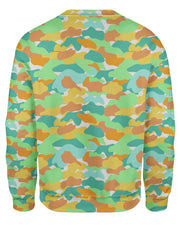 Color Camo Watermelon Sweatshirt