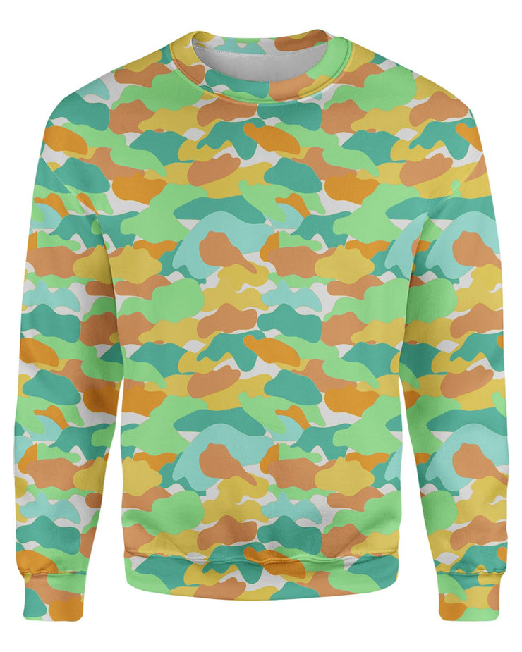 Color Camo Watermelon printed all over in HD on premium fabric. Handmade in California.
