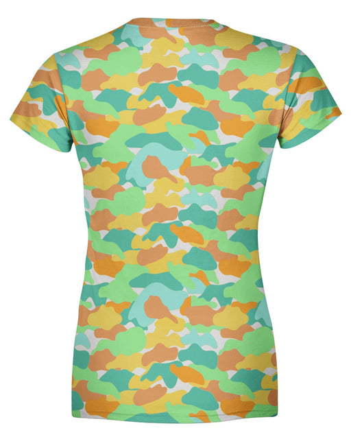 Color Camo Watermelon Women's T-shirt