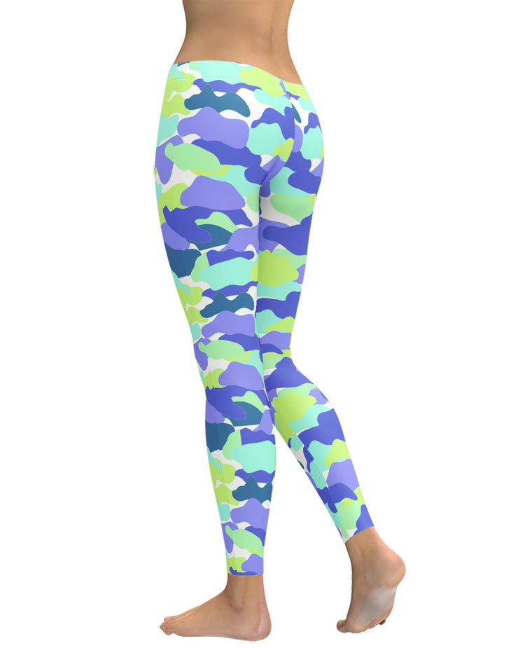 Color Camo Strange Dreams Leggings