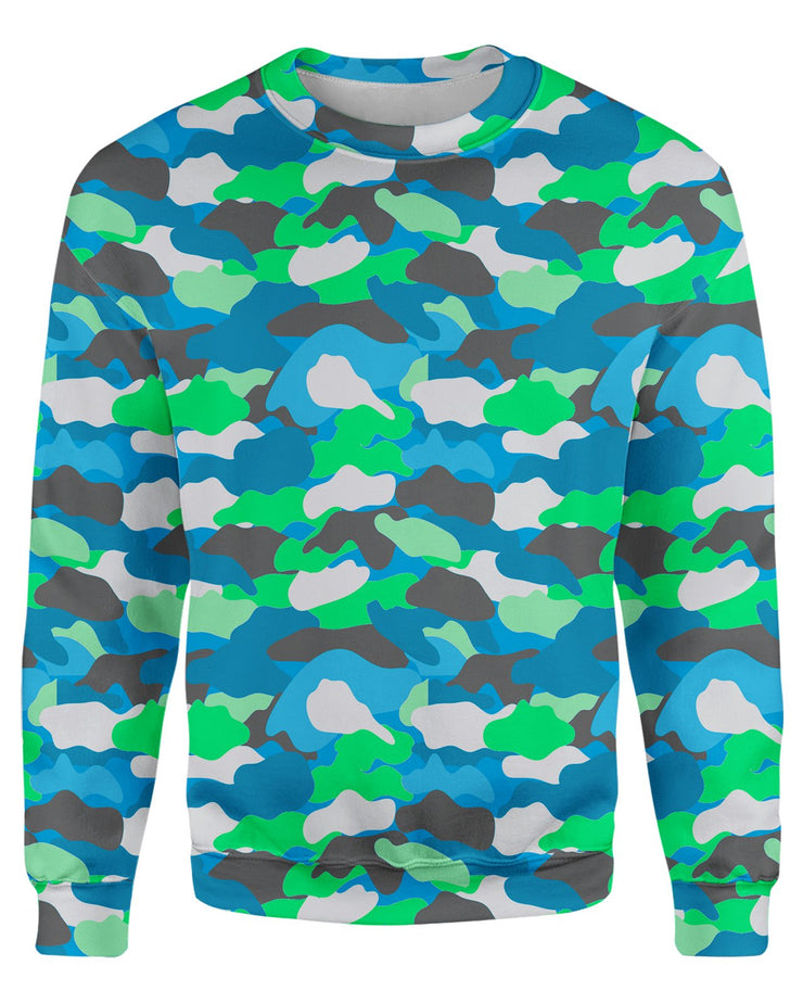 Color Camo 2007 Women's Sweatshirt