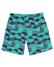 Color Camo Glo Up Athletic Shorts