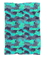 Color Camo Glo Up printed all over in HD on premium fabric. Handmade in California.