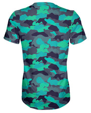 Color Camo Glo Up T-shirt