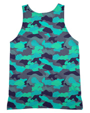 Color Camo Glo Up Tank-Top