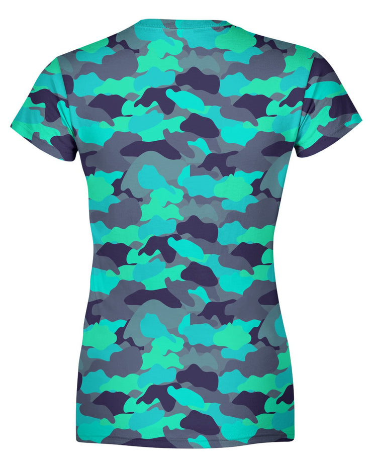 Color Camo Glo Up Women's T-shirt