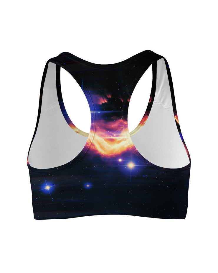 Galaxy Tail Sports Bra