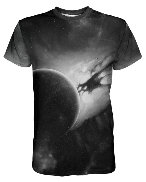 Distant Planet printed all over in HD on premium fabric. Handmade in California.