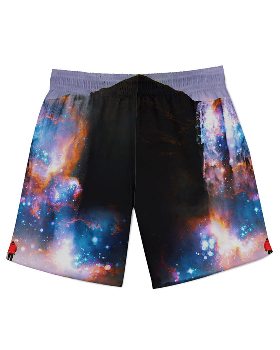 Cosmic Waterfall Athletic Shorts