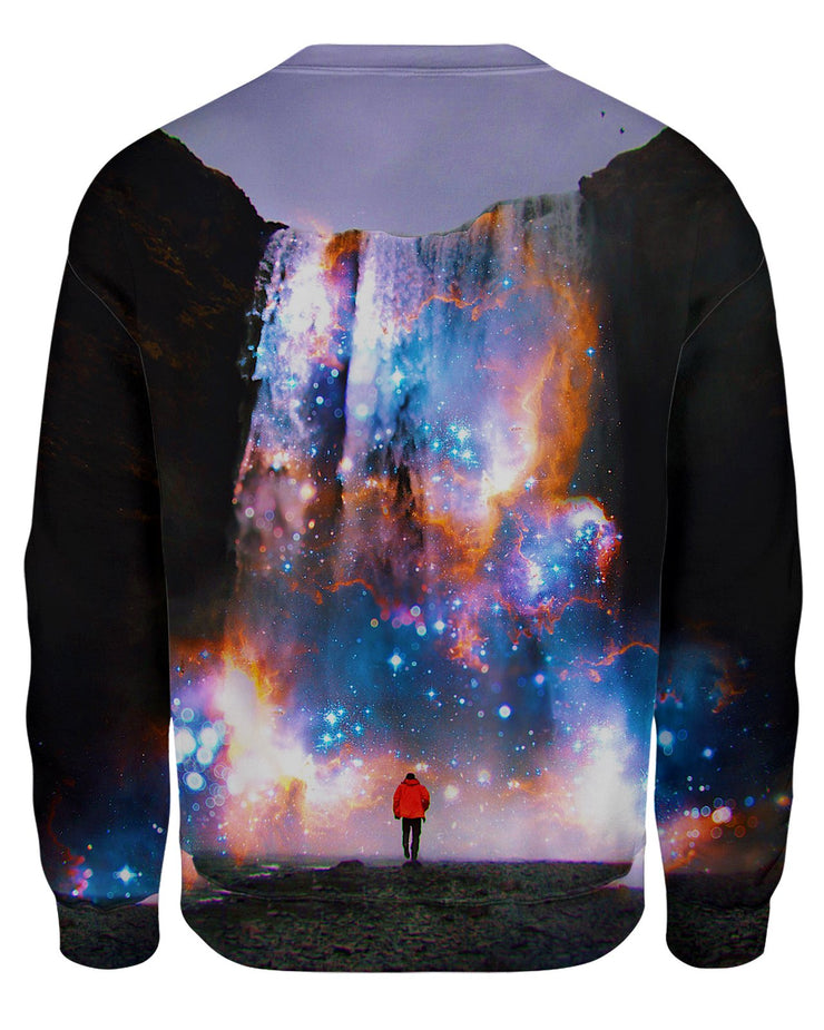 Cosmic Waterfall Women's Sweatshirt