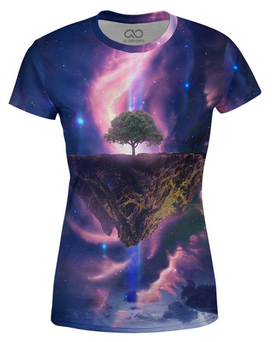 Galaxy Tree printed all over in HD on premium fabric. Handmade in California.