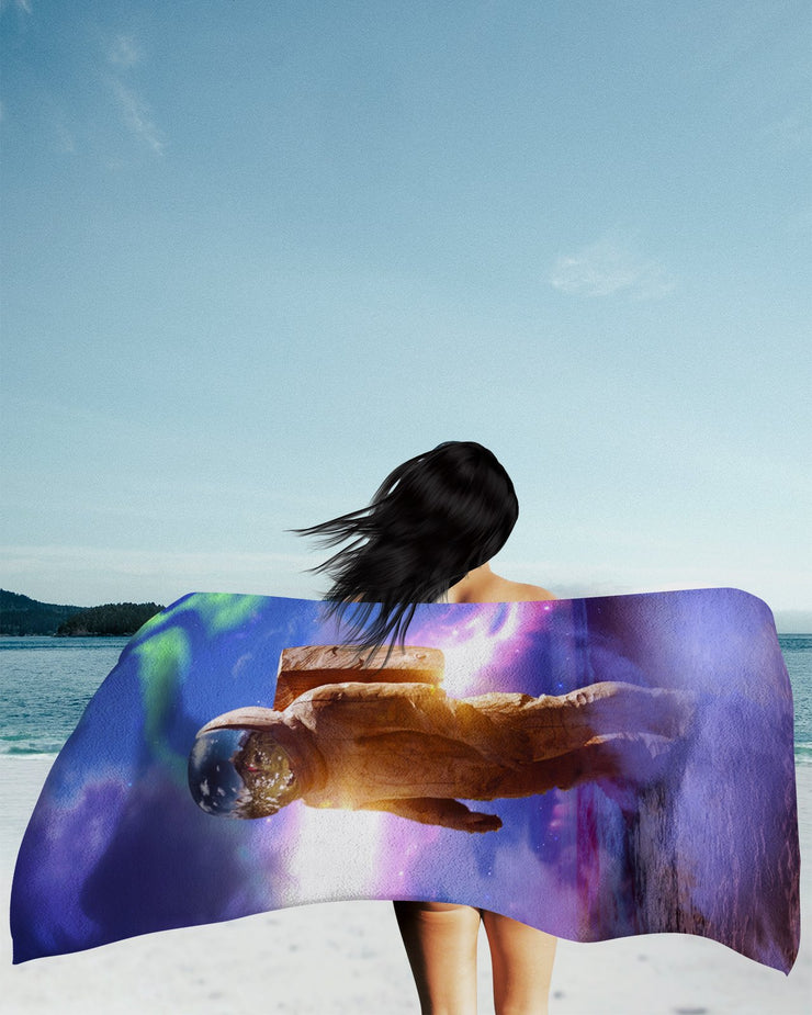 Cosmic Traveler Beach Towel