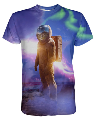 Cosmic Traveler printed all over in HD on premium fabric. Handmade in California.