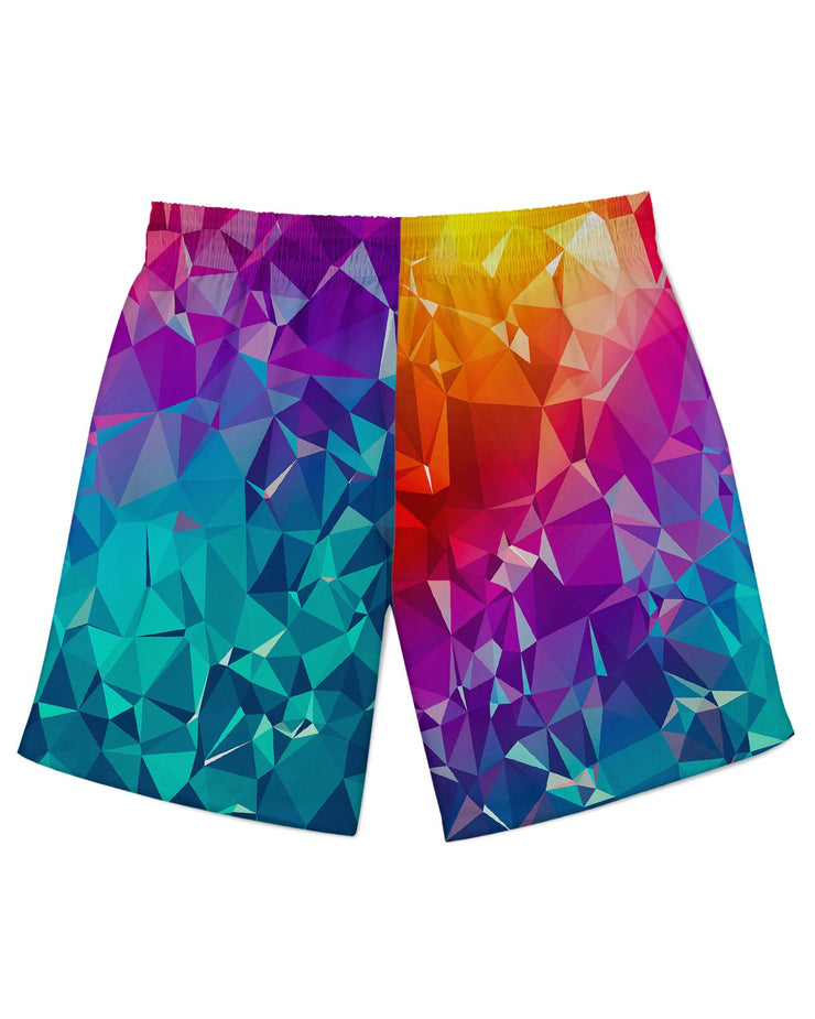 Rainbow Prism Athletic Shorts