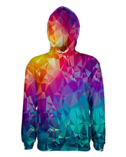 Rainbow Prism printed all over in HD on premium fabric. Handmade in California.