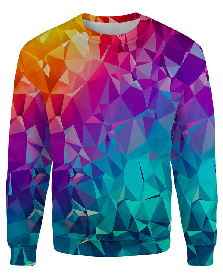 Rainbow Prism Women's Sweatshirt