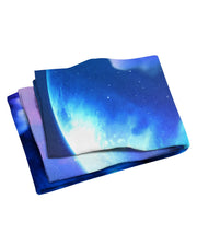 Lumi Coloruption III Beach Towel