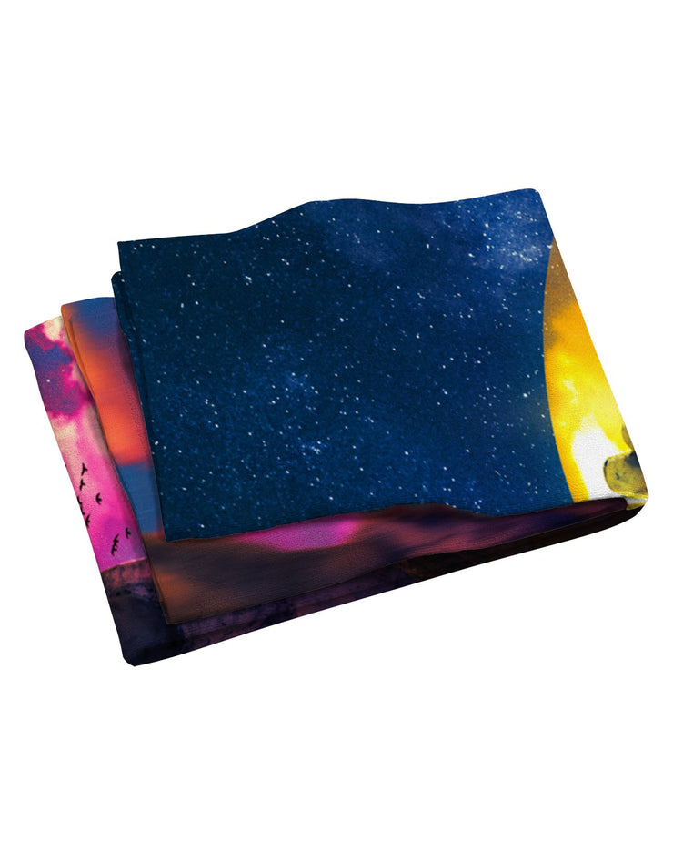 Lumi Hand of Destiny Beach Towel