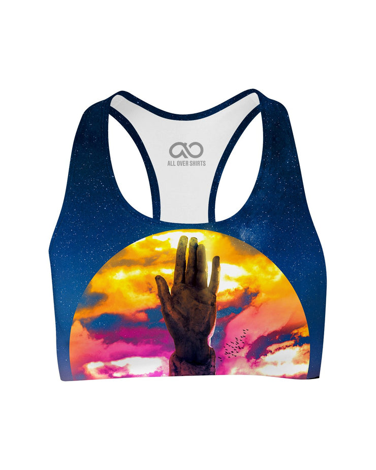 Lumi Hand of Destiny printed all over in HD on premium fabric. Handmade in California.