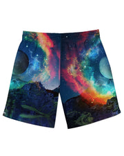 Lumi Rainbown Athletic Shorts