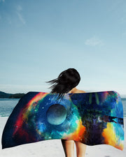 Lumi Rainbown Beach Towel