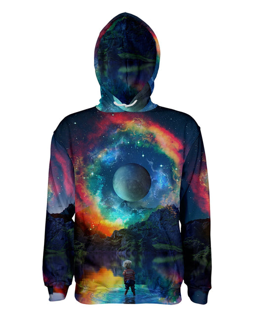 Lumi Rainbown printed all over in HD on premium fabric. Handmade in California.