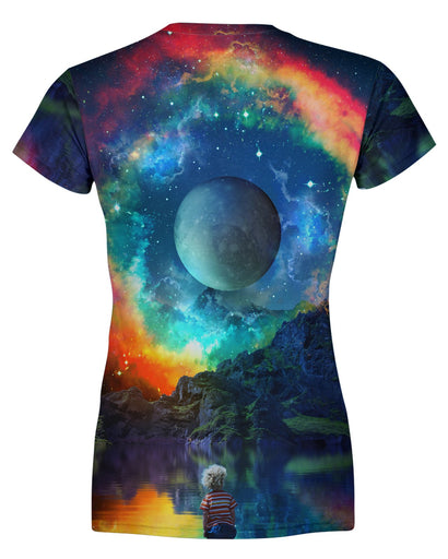 Lumi Rainbown Womens T-shirt