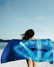 Lumi Trispangle Beach Towel